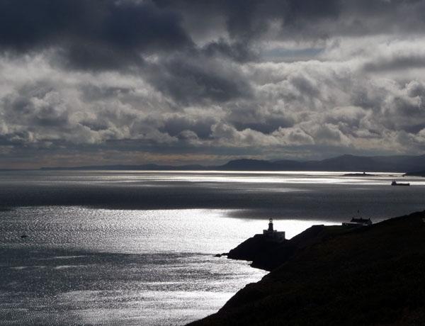 Cliff walks via Howth Head lighthouse